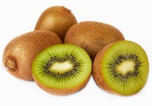 El kiwi es una fuente de fibra