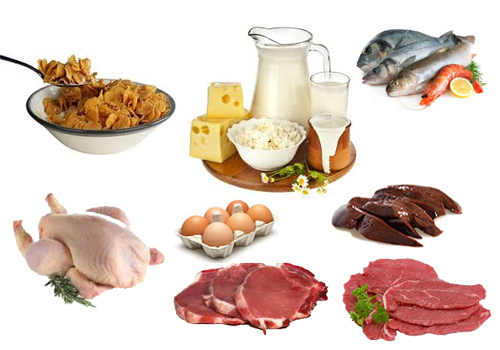 Vitamina B12 o Cianocobalamina propiedades - Dietas