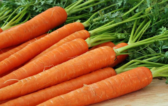 Zanahoria fuente de betacaroteno