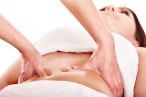 Masaje abdominal y sus propiedades