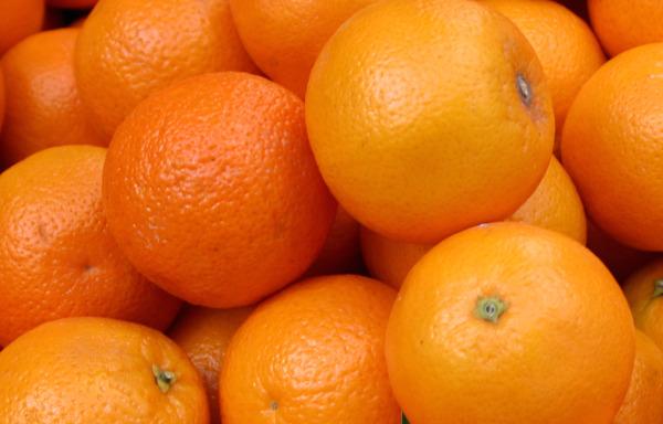 naranjas vitamina c