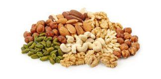 semillas frutos secos