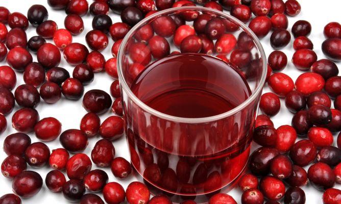 Beneficios del zumo de arandanos