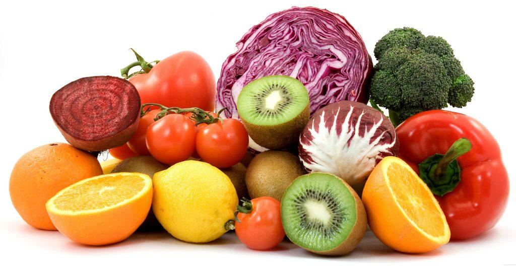 Las frutas  verduras son buenas para la salud