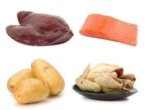 Alimentos fuentes de vitamina b6
