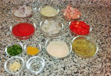 Ingredientes arroz marinero