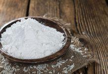 Harina de arroz no contiene gluten