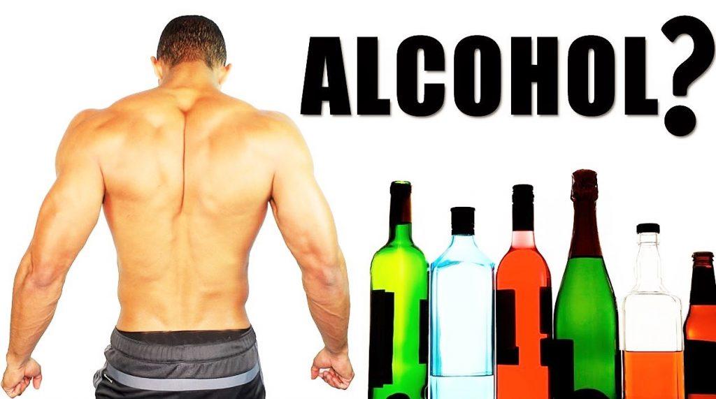 Como afecta el alcohol en el entrenamiento.