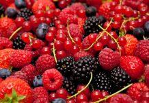 Fruta baja en azucar