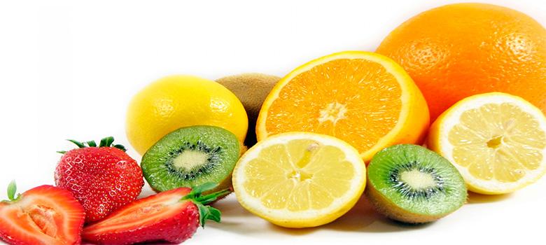Frutas citricas ricas en vitamina c