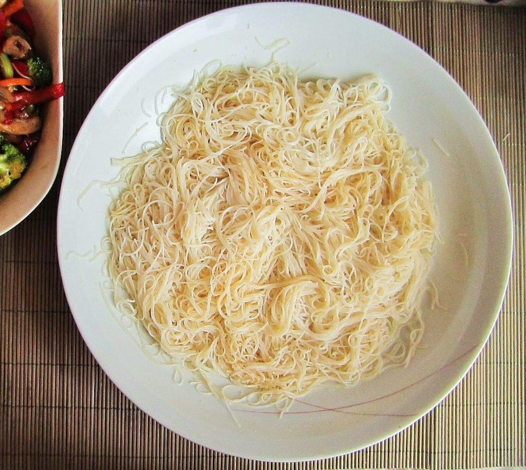 Fideos de arroz beneficios