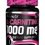 l-carnitina 1000 mg biotech usa 100 tabletas