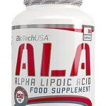 Acido alfa lipoico biotech usa 250 mg
