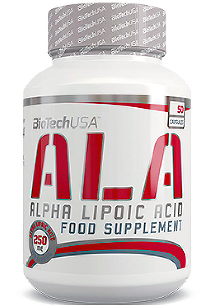 Acido alfa lipoico biotech usa 250 mg