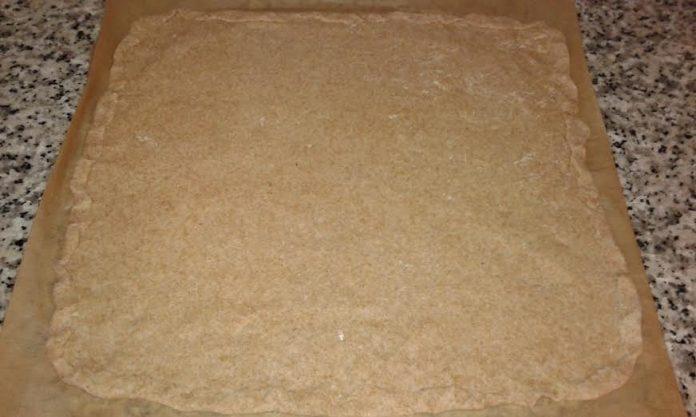 masa de coca de espinaca