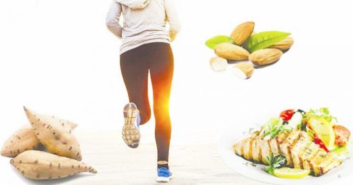 Alimentos sin gluten para los corredores