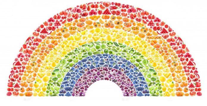 Beneficios de los colores de los alimentos