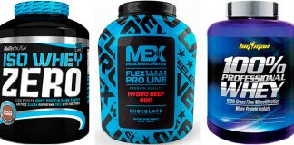Proteinas para deportivas