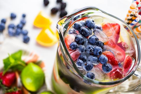 Mantenerse hidratado en verano