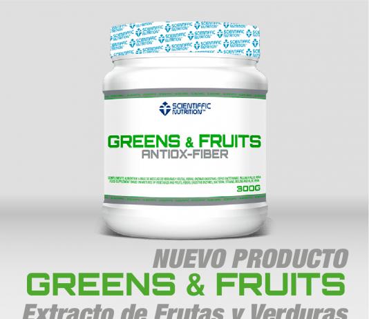 Greens & Fruits Scientiffic Nutrition imagen
