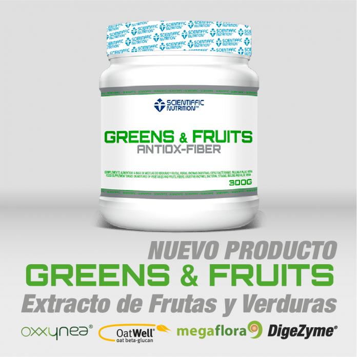 Greens - Fruits Scientiffic Nutrition imagen