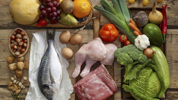 Alimentos. músculo